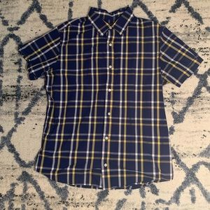 Banana Republic Short Sleeve Button Up (L)